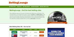 BettingLounge.co.uk index page