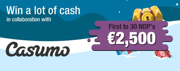 Casumo Christmas Cash Club