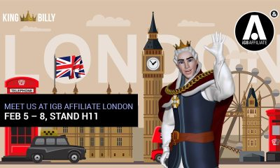 King Billy Casino at iGB Affiliate London 2020. King's Calling to Affiliates.