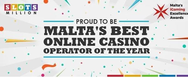 Best Online Casino Operator of the year