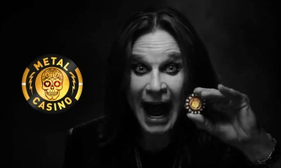 "Metal Casino goes ""All in"" with Ozzy Osbourne as mega influencer in UK social media channels"
