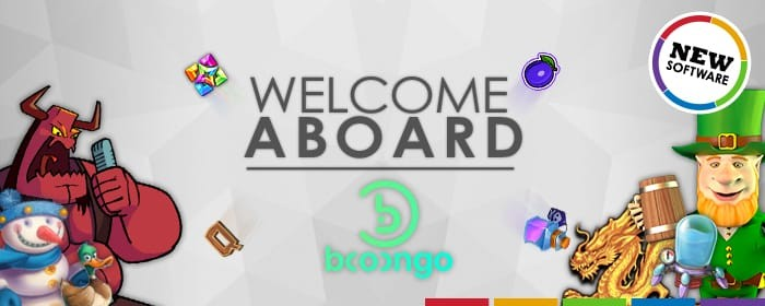 Welcome Booongo