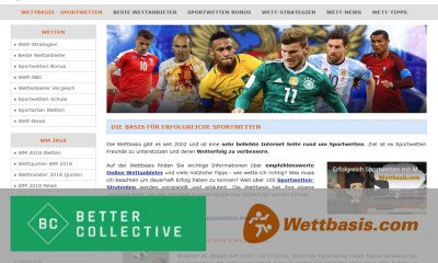 Better Collective establishes leading position in German speaking markets with acquisition of Bola Webinformation GmbH (wettbasis.com)