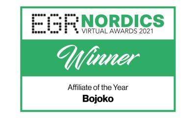 Bojoko crowned Affiliate of the Year at EGR Nordic Awards