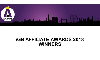 IGB AFFILIATE AWARDS 2018 WINNERS