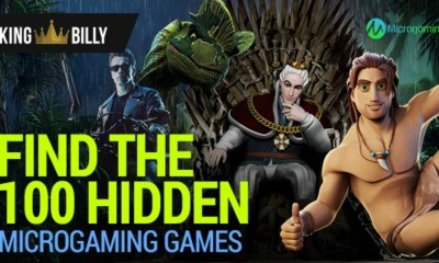 KING BILLY CASINO CHALLENGES PLAYERS TO FIND 100 HIDDEN MICROGAMING GAMES