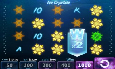 Slotland launches new Ice Crystals slot