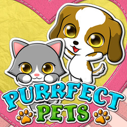 free spins on Purrfect Pets slot from RTG at Slotastic