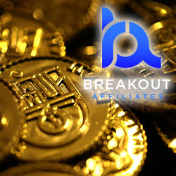 Ker-ching! Thriving Breakout Gaming coin set for new sites