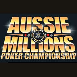 aussie millions satellite tournaments at Intertops