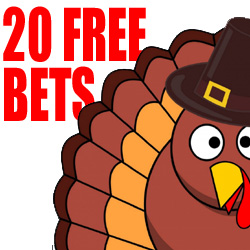free bets thanksgiving day at juicy stakes