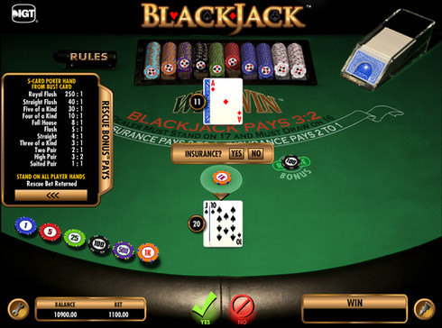 Insurance in Blackjack