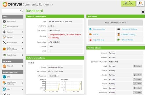 zentyal-web-interface