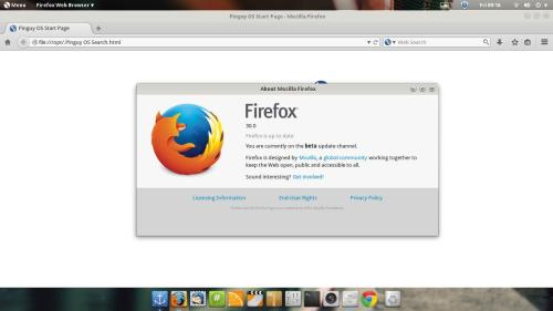 firefox 30 on pinguy os
