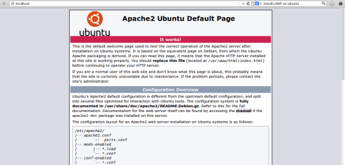 install lamp server on xubuntu 14.04 1