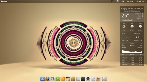 pinguy os 14.04 screenshot 1