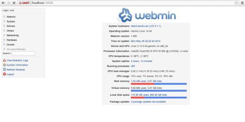 webmin ubuntu 14.04 2