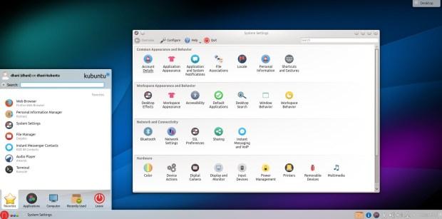kubuntu 14.04 with numix icons
