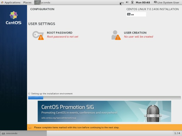 centos 7.0 installation tutorial 6