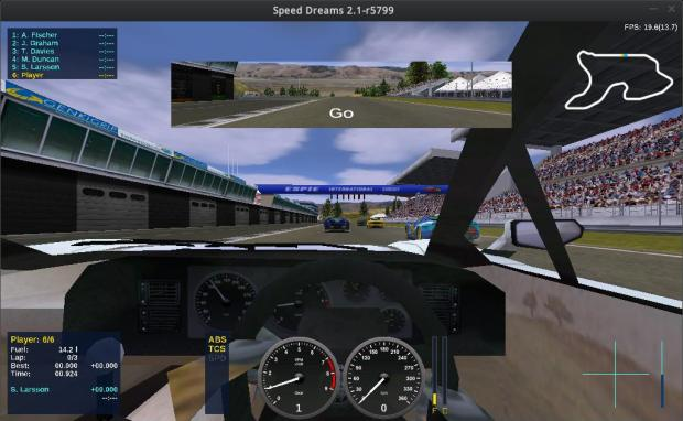 speed dreams racing screenshots 3