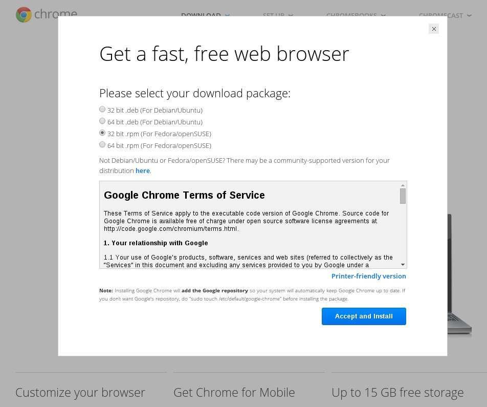 Chrome Version Download