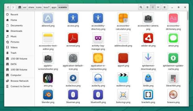 ieos7 icon theme