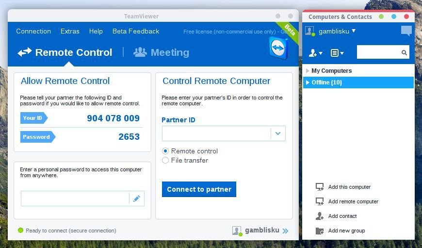 TeamViewer 10 Beta is now available, install it on Ubuntu