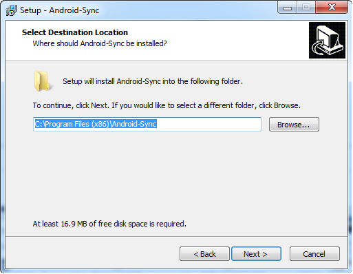 install android sync 3