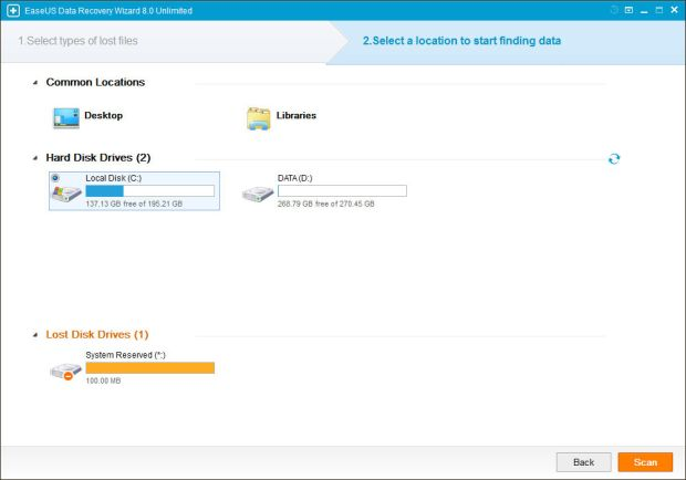 easeus data recovery wizard tutorial 2