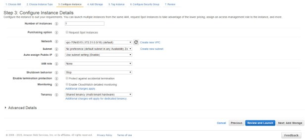 aws create new instance 2