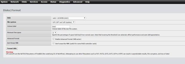 nas4free disk management 7