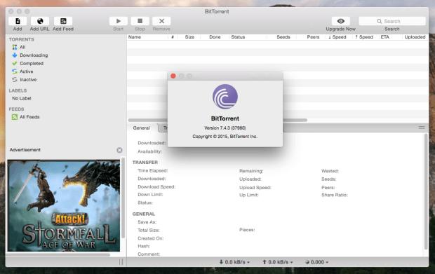 bittorrent on mac