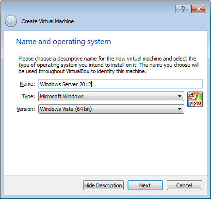 Type of installation. Partition for Windows Server. Installing Windows  Server 2012 R2