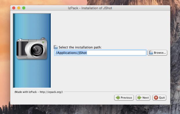 jshot install 4