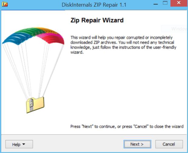 diskinternals disk repair 1