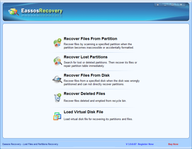 eassos recovery 1