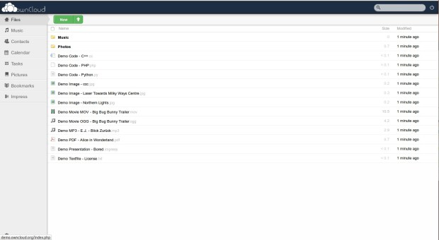 owncloud 8.1.1 linux