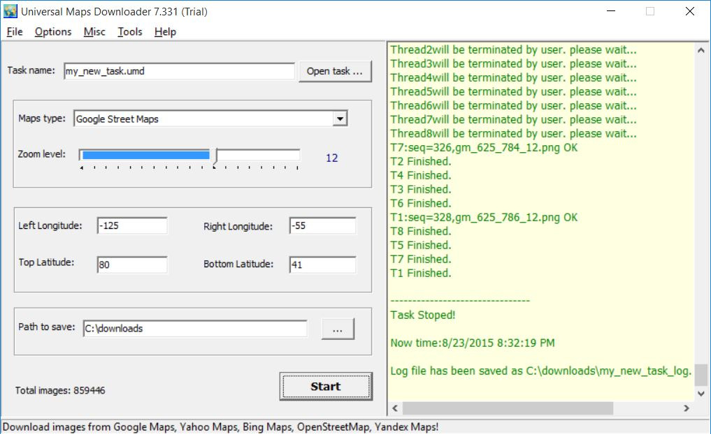 Universal Maps Downloader 7 3 - Tutorial and Full Version Software