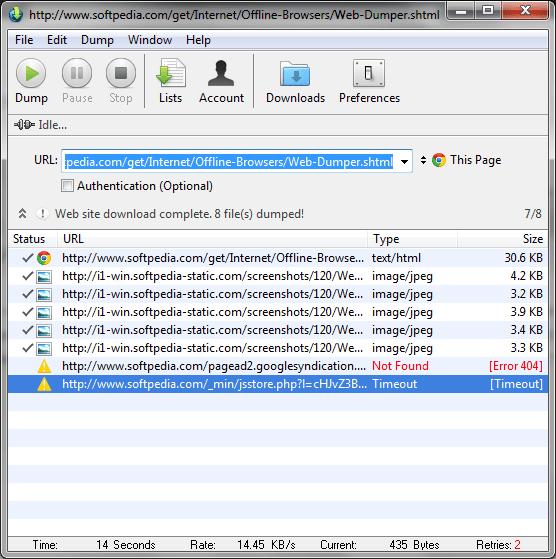 webdumper full version