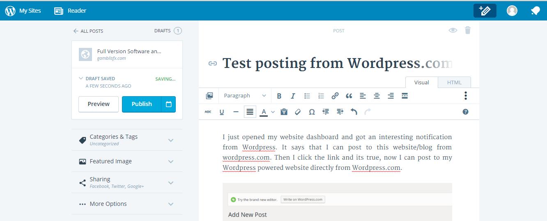 post from wordpress 2