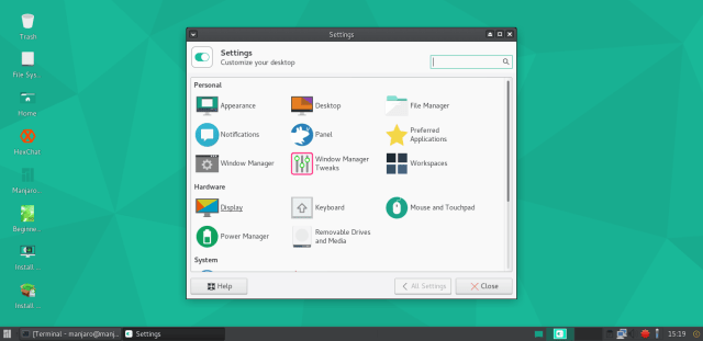 Manjaro 16.06 screenshots 4.png