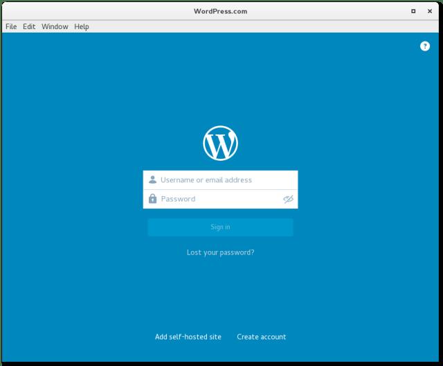 wordpress desktop on fedora 23.png