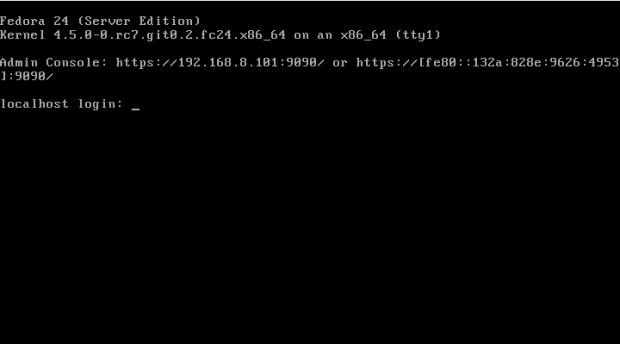 fedora 24 server install 8