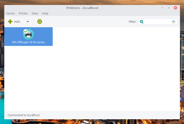 add new printer linux lite 4