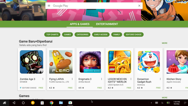 Google Play Store on Remix OS 3.0