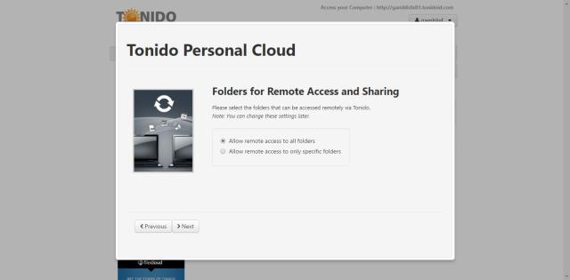 tonido on ubuntu 16.04 server 2.png
