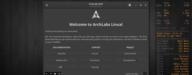 archlabs 5.0 screenshots