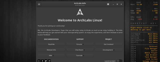 archlabs 5.0 screenshots