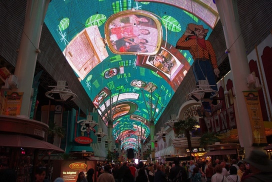 Viva Vision at the Fremont Street Experience