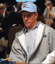 Erick Lindgren playing poker